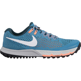 Nike Air Zoom Terra Kiger 4 Running Shoes Women, aqua/jungle